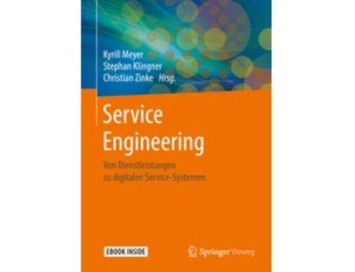 """Beitrag zu LESSIE im Buch """"Service Engineering Von Dienstleistungen zu digitalen Service-Systemen"""""""
