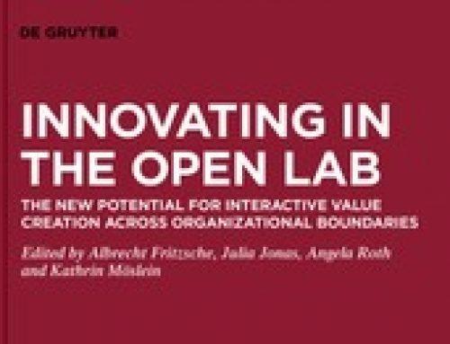 Methodenbeitrag zum Buch Innovating in the Open Lab