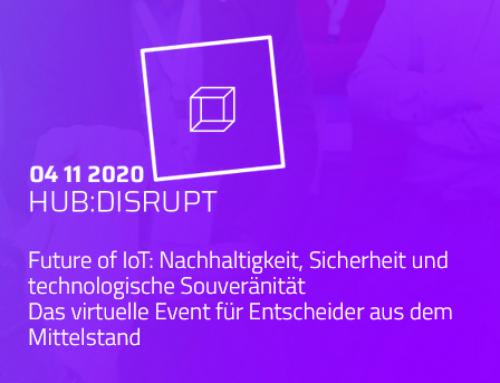 Veranstaltung hub:disrupt von Smart Systems Hub