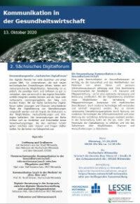 2. Sächsisches Digitalforum - Kommunikation in der Gesundheitswirtschaft