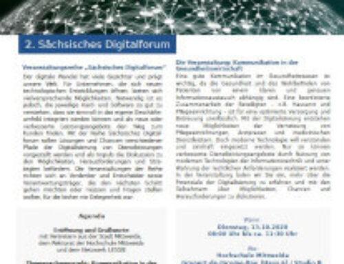 2. Sächsisches Digitalforum: Kommunikation in der Gesundheitswirtschaft