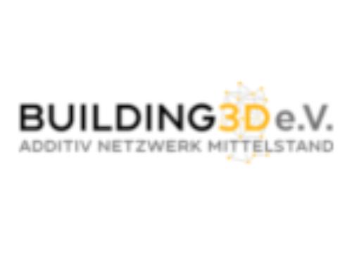 Neuer Partner im Netzwerk: Building 3D e.V.